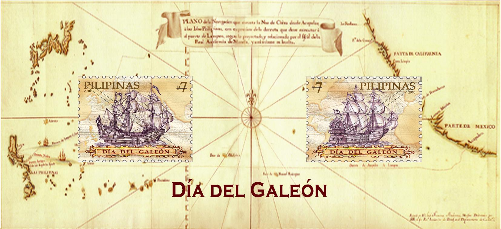 Philippine philately commerating the Manila galleon